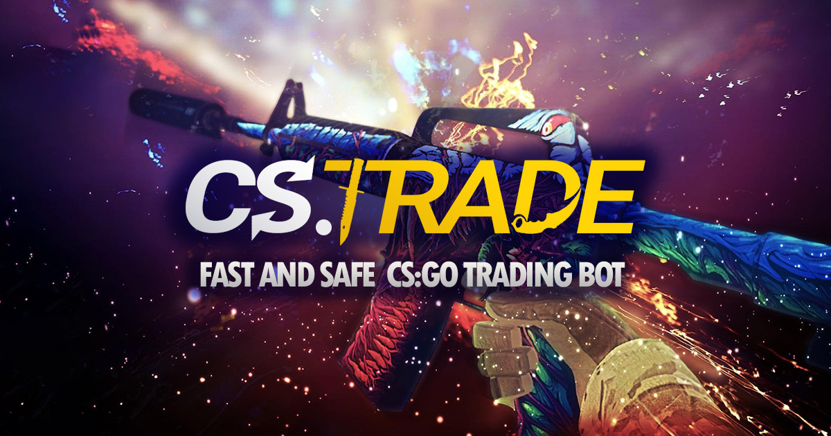CS TRADE Multi-Game Trade Bot CS:GO, DOTA 2, RUST, H1Z1